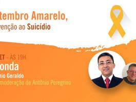 Cremepe promove lives especiais para o Setembro Amarelo