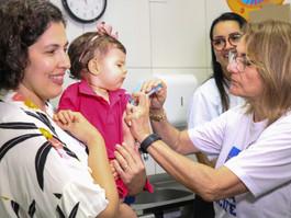 Sarampo: última semana da 1ª fase da Campanha de Vacinação