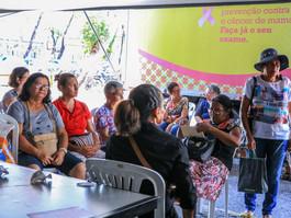 Recife disponibiliza 2.720 vagas para exames nomamógrafomóvel em agosto
