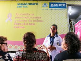 Mamógrafo móvel: PCR disponibiliza 1.360 vagas para exames em fevereiro