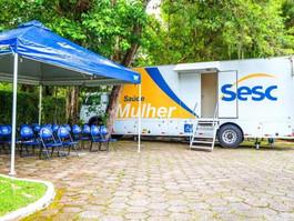 SESC leva rede móvel de mamografias a mulheres de todo o país