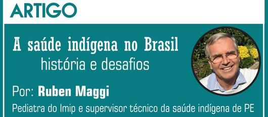 Artigo: A saúde indígena no Brasil - história e desafios