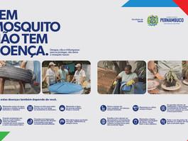 """""""Sem mosquito não tem doença"""": Governo de Pernambuco lança campanha de mídia contra o Aedes aegypti"""