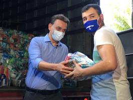 Hapvida realiza doação de 58 mil itens alimentícios para a ONG Novo Jeito