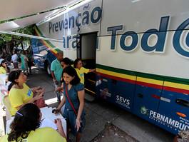 SES/PE oferta teste rápido de HIV e sífilis em Jaboatão