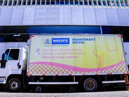 Recife conta com 1200 vagas para exames no mamógrafo móvel em novembro