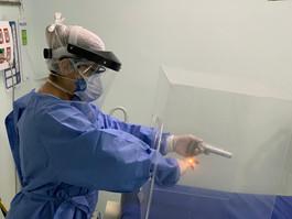 Hapvida desenvolve novo dispositivo no combate ao coronavírus