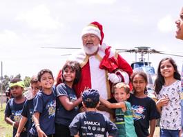 Samu Recife arrecada doações para festa natalina de crianças
