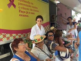 PCR oferece mais de 1400vagaspara exame no mamógrafo móvel em janeiro