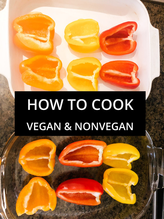 How to cook Vegan/Non Vegan