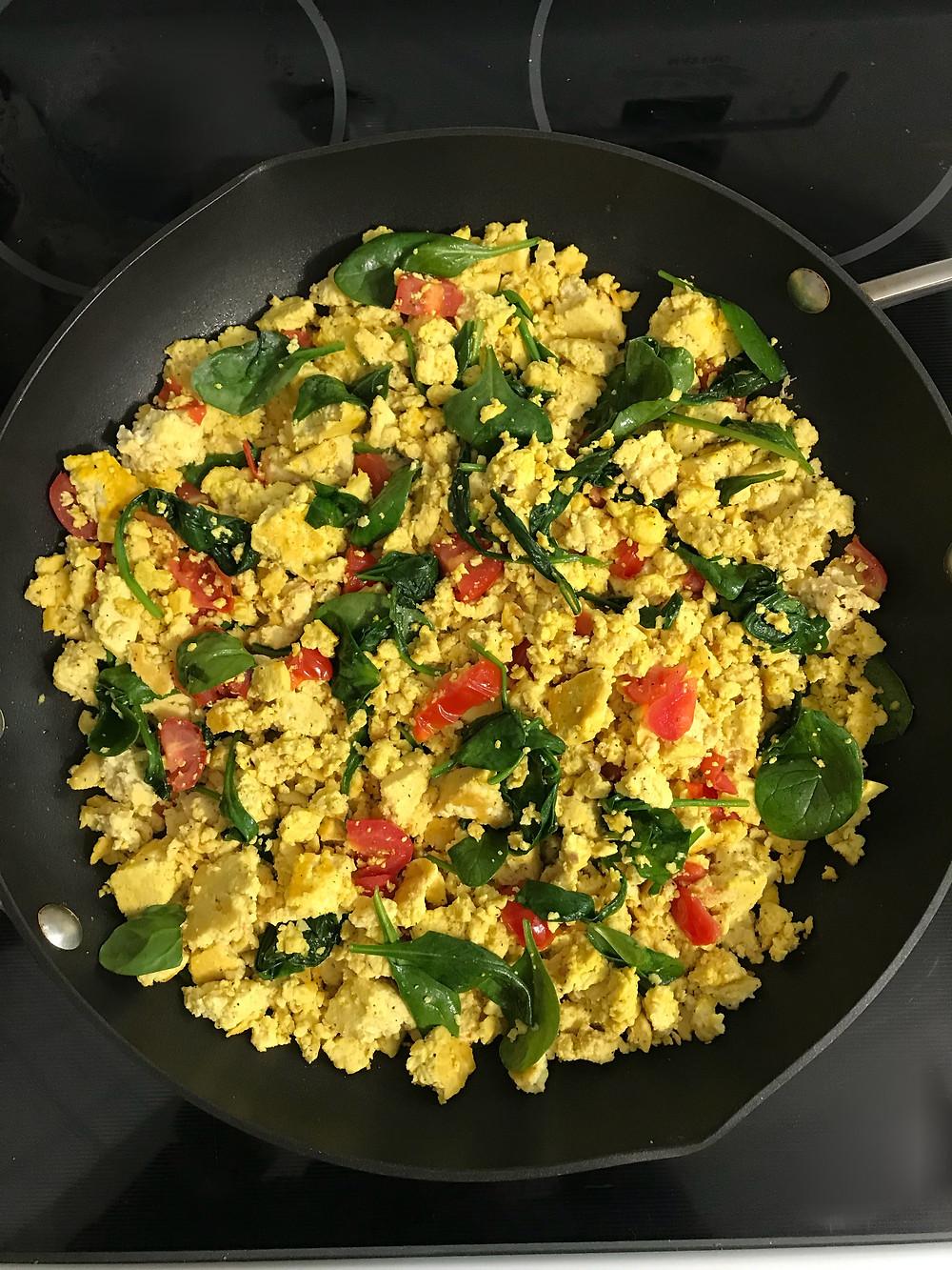 tofu scramble goddess bodies vegan for non vegans cookbook