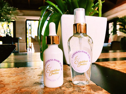 Goddess Hair Serum Treatment ++ Leave in Conditioner Spray
