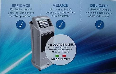 Laser Diodo 808 per delilazione uomo e donna made in Italy