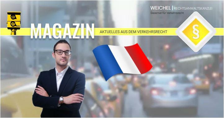 Eine Unfallreise durch Europa  - Frankreich