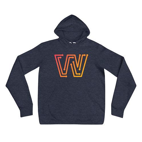 Wallsies W Unisex hoodie