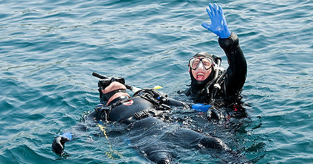 Take the Rescue Diver Course at Amaso Dive Center