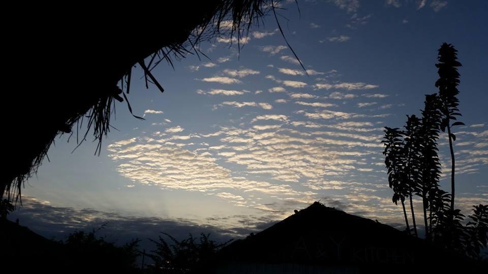 Il cielo di Aflasco, Ghana - Foto di Antonella Sinopoli