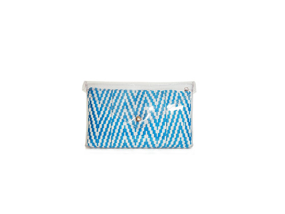 Clutch GlassyBag Turquoise