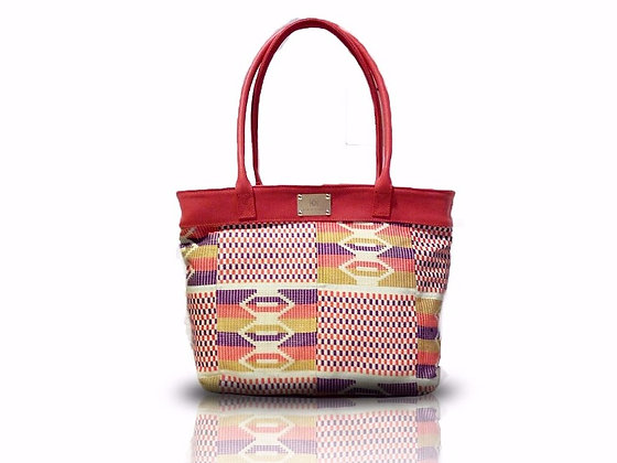 Shopper Violet Orange