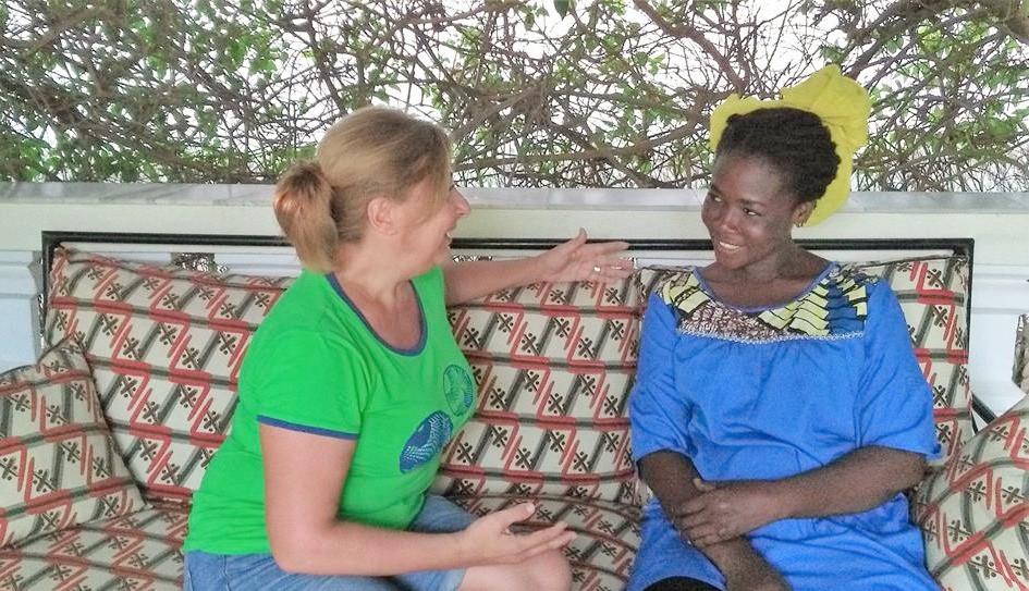 Antonella Sinopoli incontra le poetesse africane