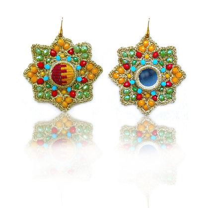 KxK Theresa Kufour Arabesque (star) earrings