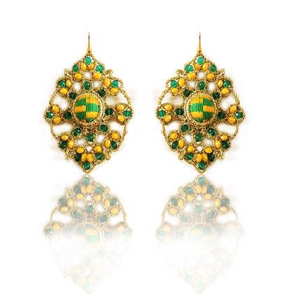 KxK Theresa Kufuor Arabesque  earrings