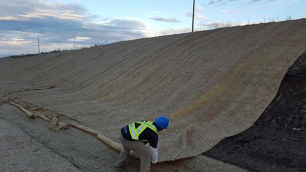 Erosion Control Blanket (ECB)