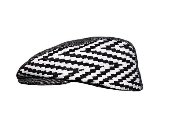 KxK Black&White Sicilian Cap - Fall Winter