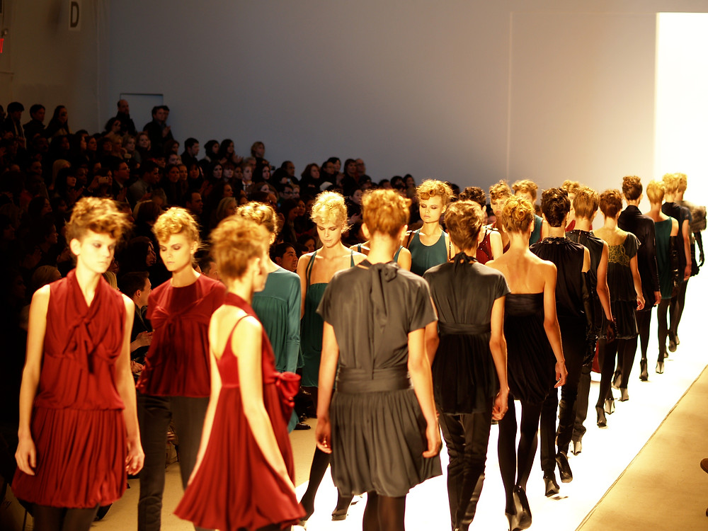 Passerelle della Fashion Week