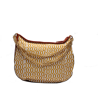 Maxi Bag Gold con catena dorata