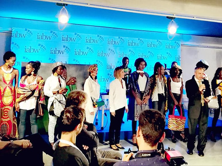 Korai x Kente insieme agli Afro Italian Fashion LAB alla seconda edizione dell'Italia Africa Bus