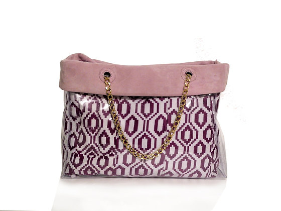 Shopper GlassyBag Purple - ESAURITO