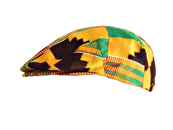 Chora Sicilian Cap in Kente