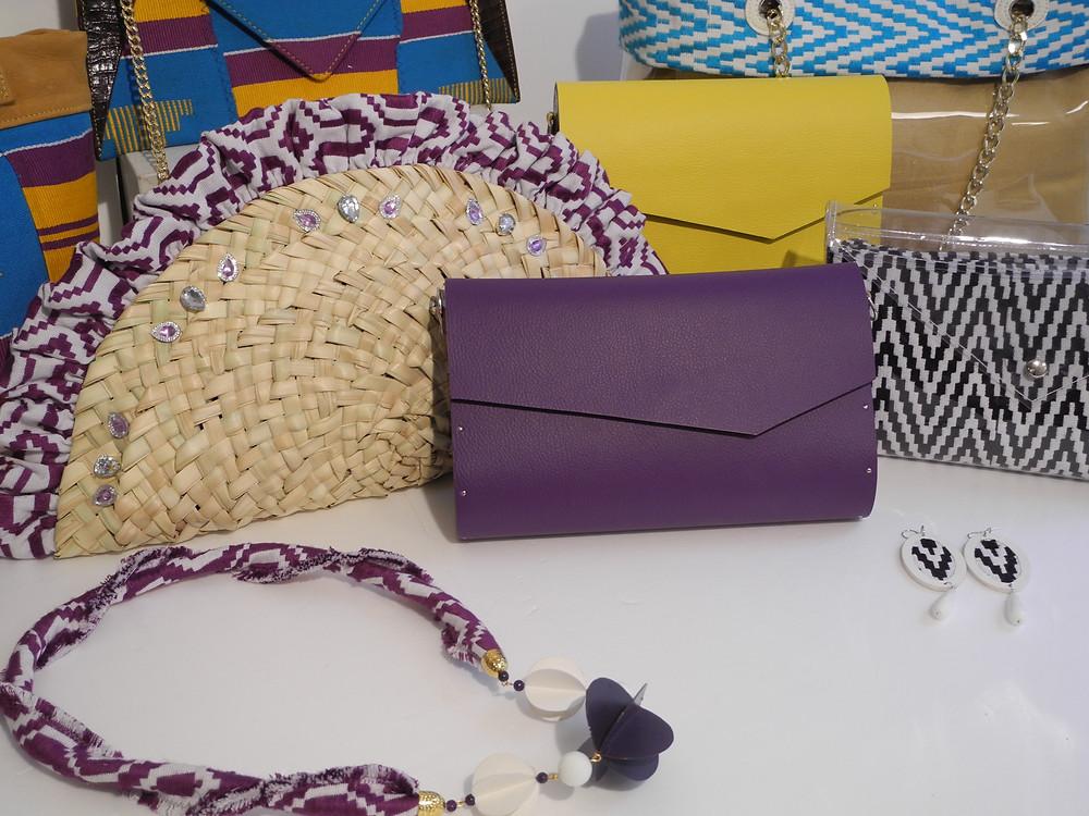 Collezione di accessori Korai x Kente