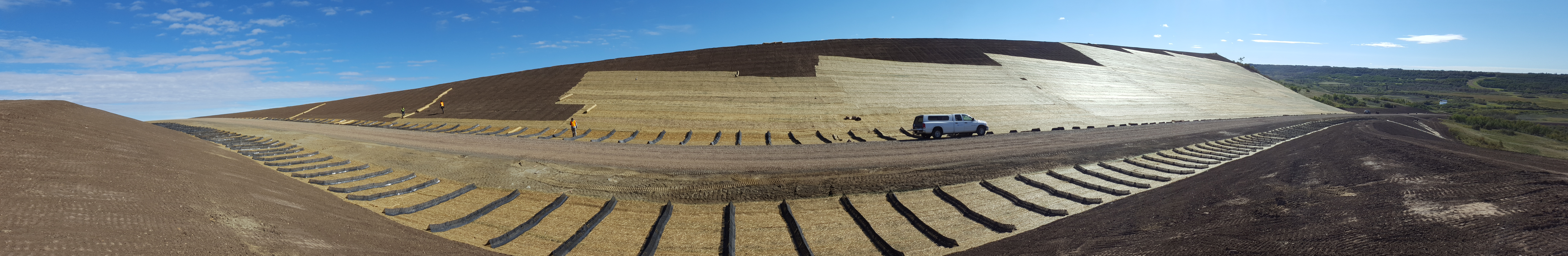 Erosion Control, Hydroseeding   Edmonton, Alberta   Give Back