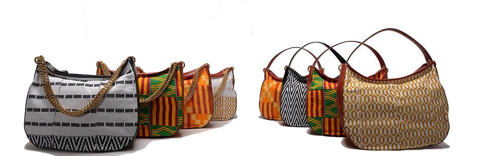 Collezione di borse Korai x Kente: Maxi Bag KxK