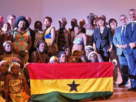 Korai x Kente protagonista insieme al Ghana a Blue Sea Land 2015