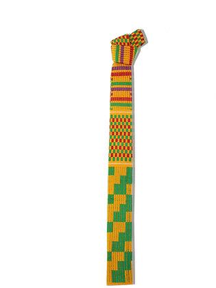 Cravatta multicolor yellow