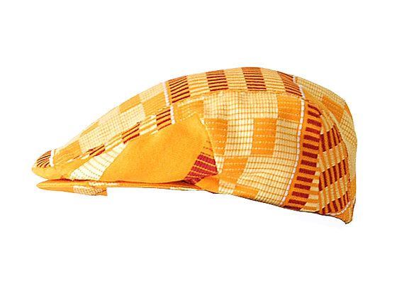 My Heart Desire Sicilian Cap in Kente