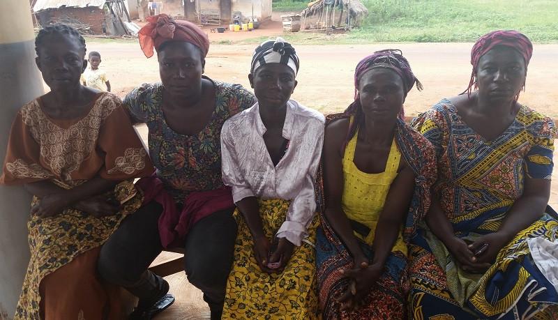 Gruppo n. 2 del programma di microcredito Yendaakye