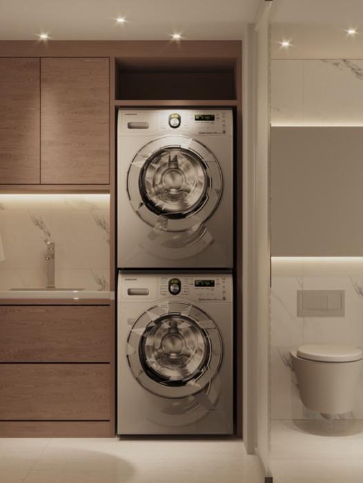 Powder/Laundry Room