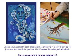 Schüler der Studienrichtung Kunst laden zur Ausstellung ein