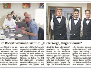 """Wallonie Gourmande"" im Robert-Schuman-Institut: ""Kurze Wege, langer Genuss"""