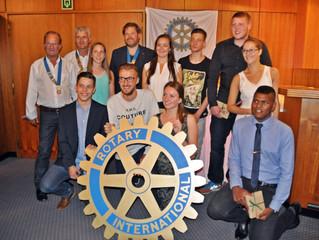 Ostbelgische Rotary-Clubs vergaben den Kameradschaftspreis