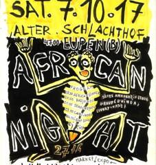 Schüler der Studienrichtung Kunst besuchen die Ausstellung « African Night »