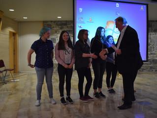 """Schüler der Studienrichtung Kunst nehmen am Wettbewerb """"Europa kreativ"""" teil"""