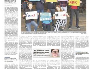 RSI-Schüler als Klimabotschafter in Bonn