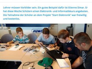 Start Elektronik: Eine Projektwoche in den Schulferien