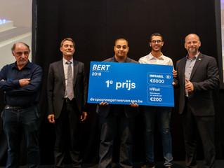 Schüler des Eupener Robert-Schuman-Institutes (RSI) gewannen technischen Wettbewerb der SNCB