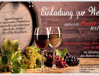 Weinherstellung: Abteilungsübergreifendes Projekt